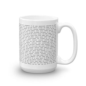 Banned Strings Mug 1