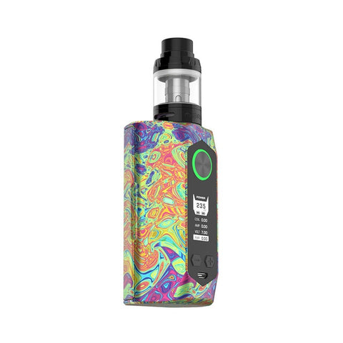 100% Original 235W GeekVape Blade TC Vape Kit with 4ml Aero Tank Max 235W No 18650 Battery Box Mod E-cig Vape Kit vs Zeus Dual