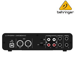 INTERFACE BEHRINGER MOD.UMC-204HD