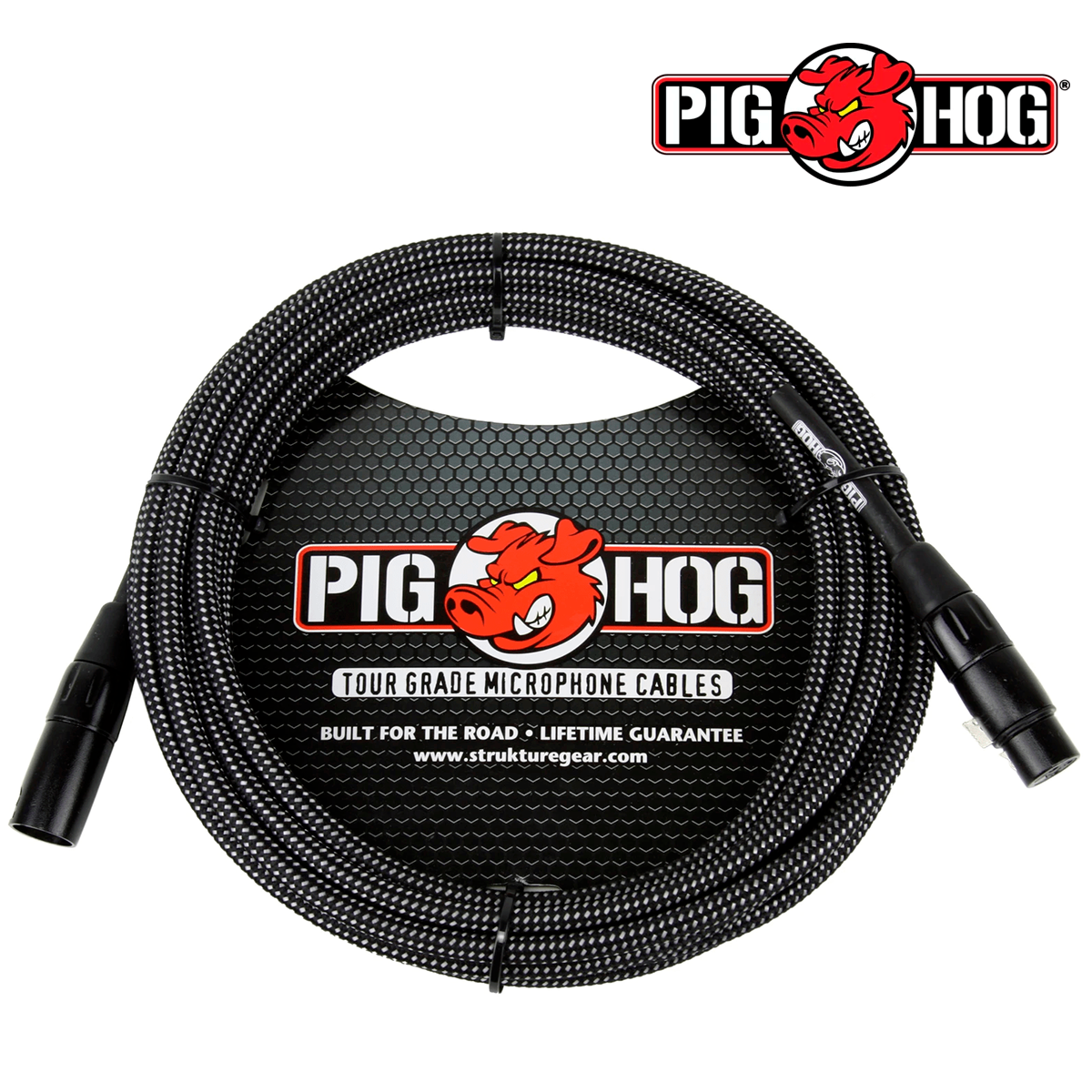 CABLE P/MICROFONO  BLACK WITHE 6.10 CM XLR