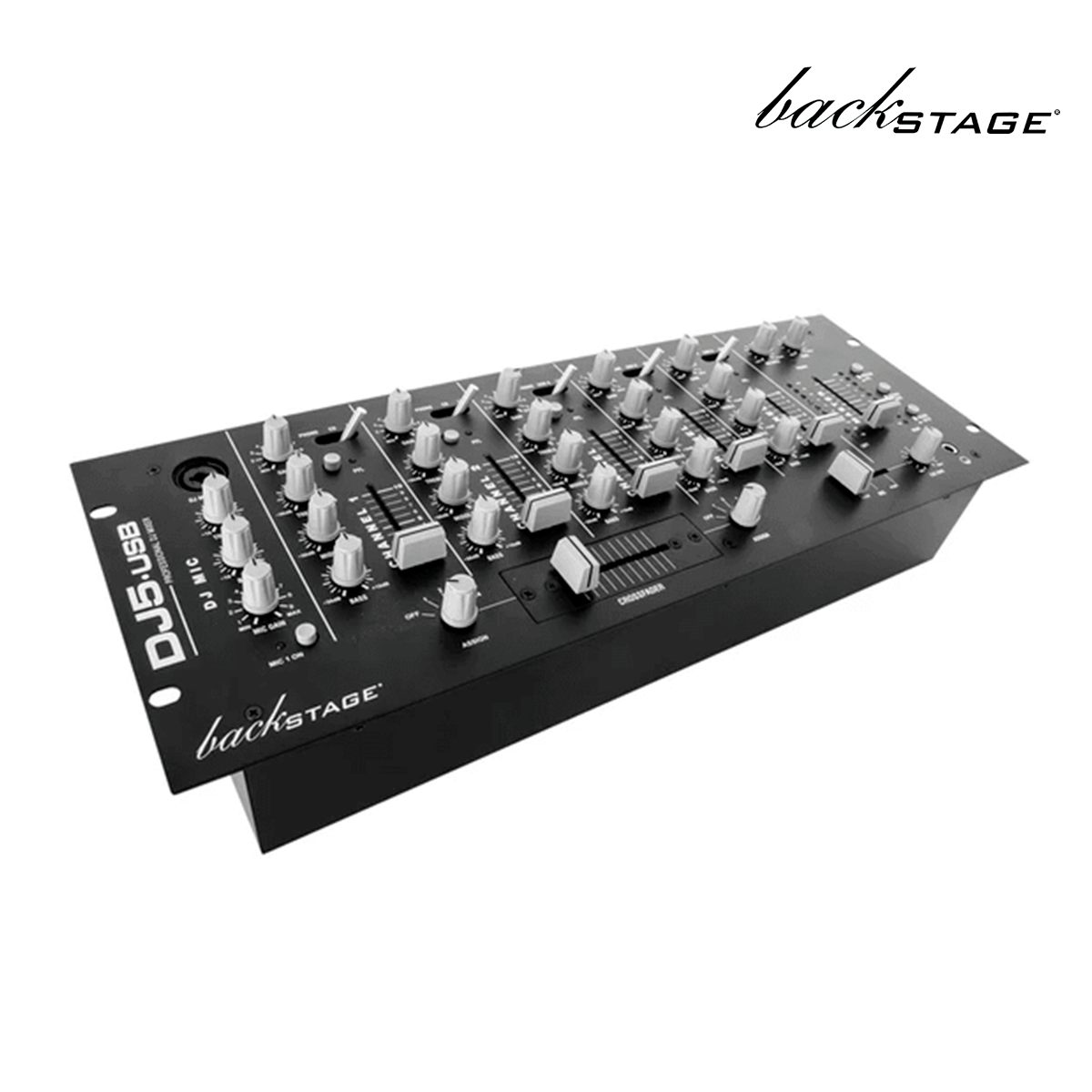 MEZCLADORA PARA DJ BACK STAGE C/INTERFASE DJ5-USB