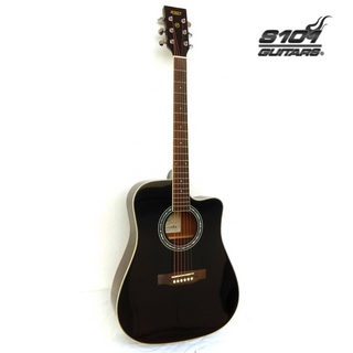 D-4410-C NA GUITARRA S101 ACUSTICA TEXANA CON FUNDA - NATURAL