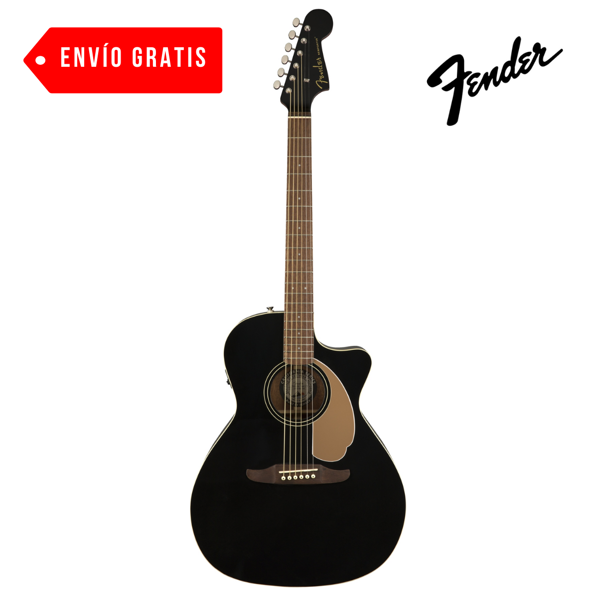 GUITARRA ELECT.ACUSTICA NEWPORTER PLYR, JETTY BLACK WN