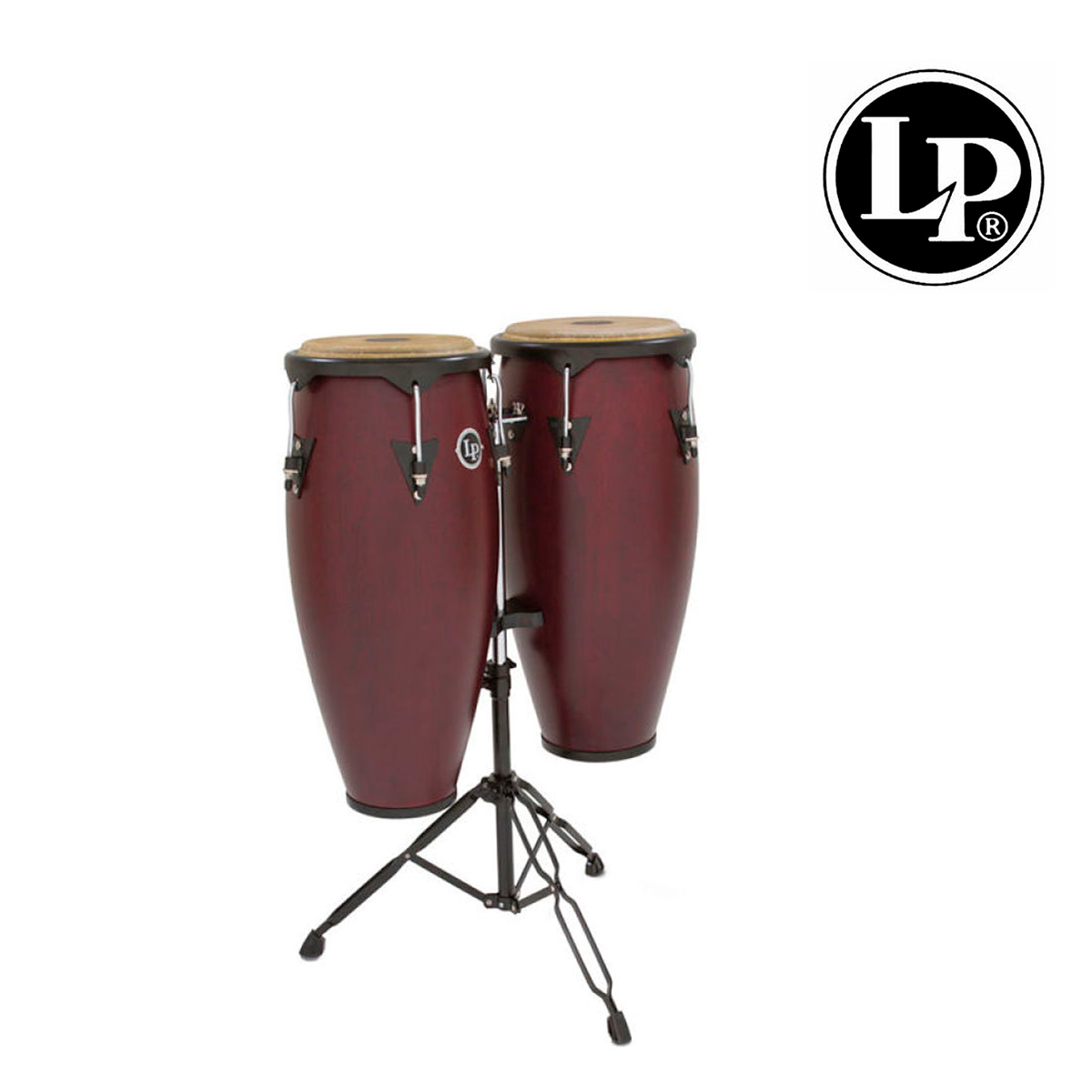 "CONGAS LP CITY 11"" Y 12"" MAD.VINO CON ATRIL LP647NY-DW"