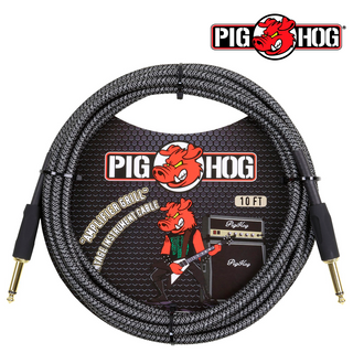 "CABLE PARA INSTRUMENTO AMPLIFIER GRILL 3.05 MTS 1/4""-1/4"" PIG"