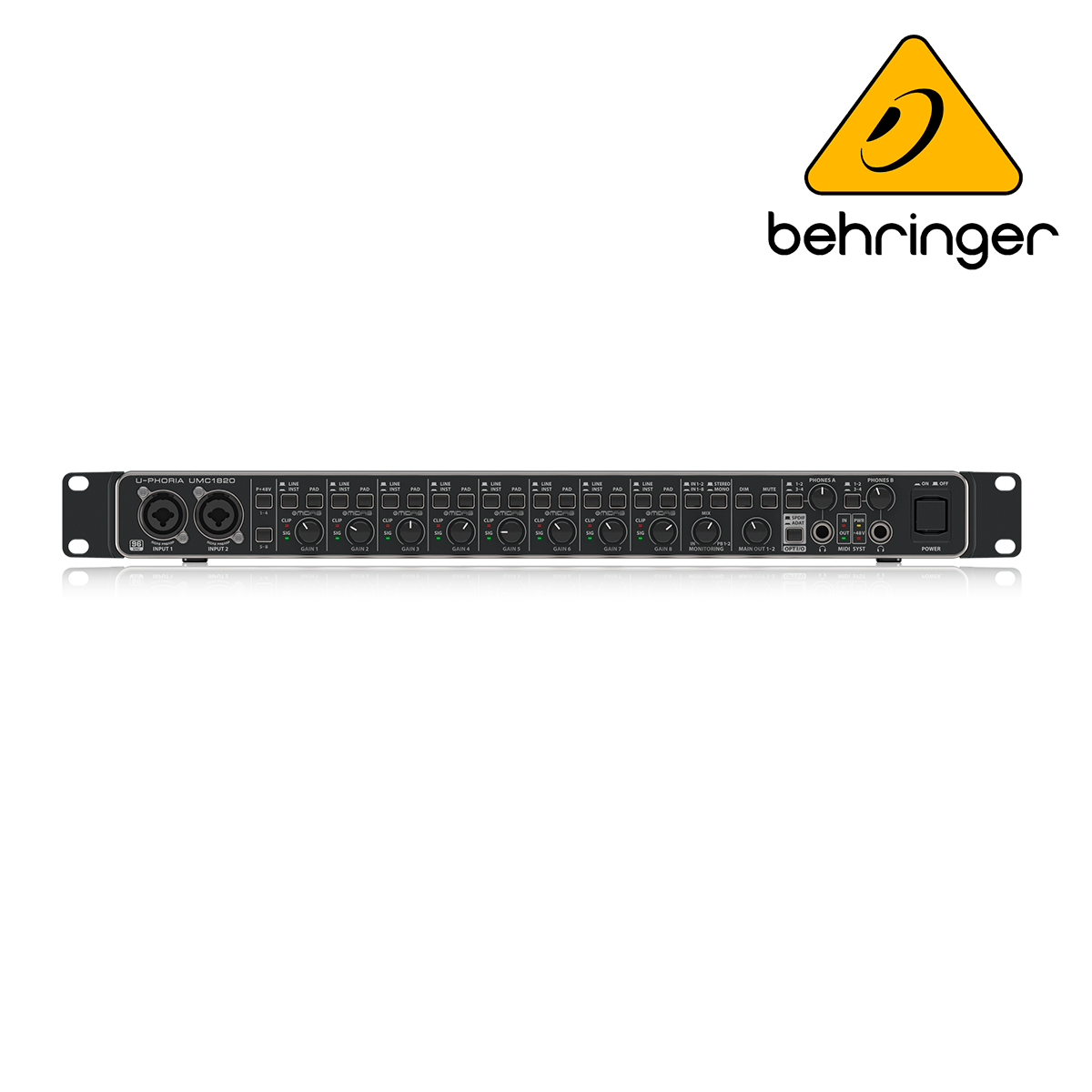 INTERFACE BEHRINGER UMC1820