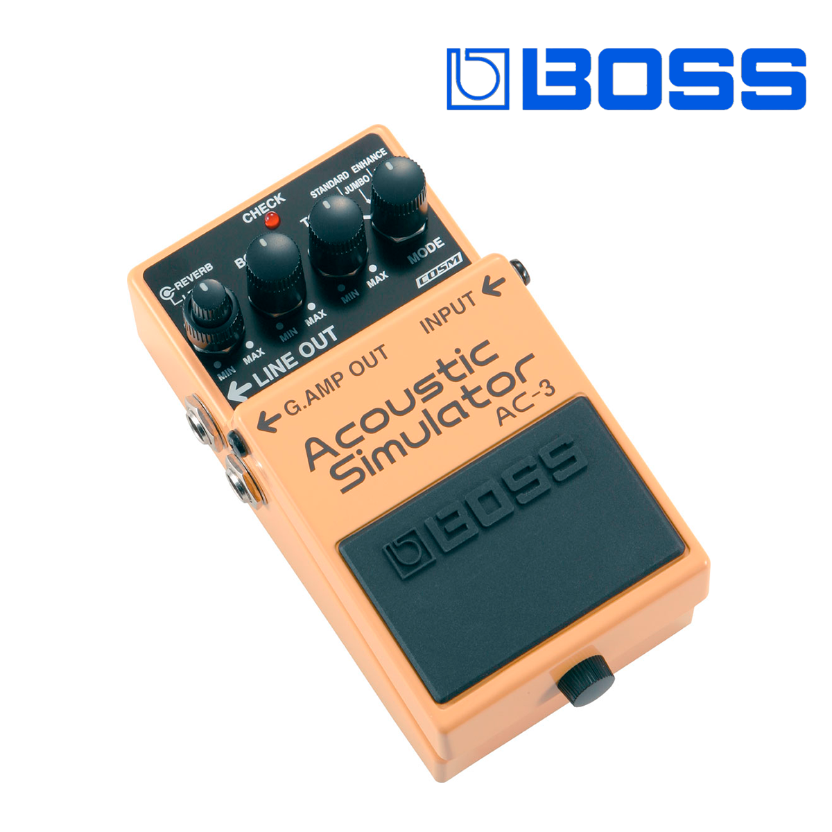PEDAL EFECTO BOSS ACCOUSTIC SIMULAT