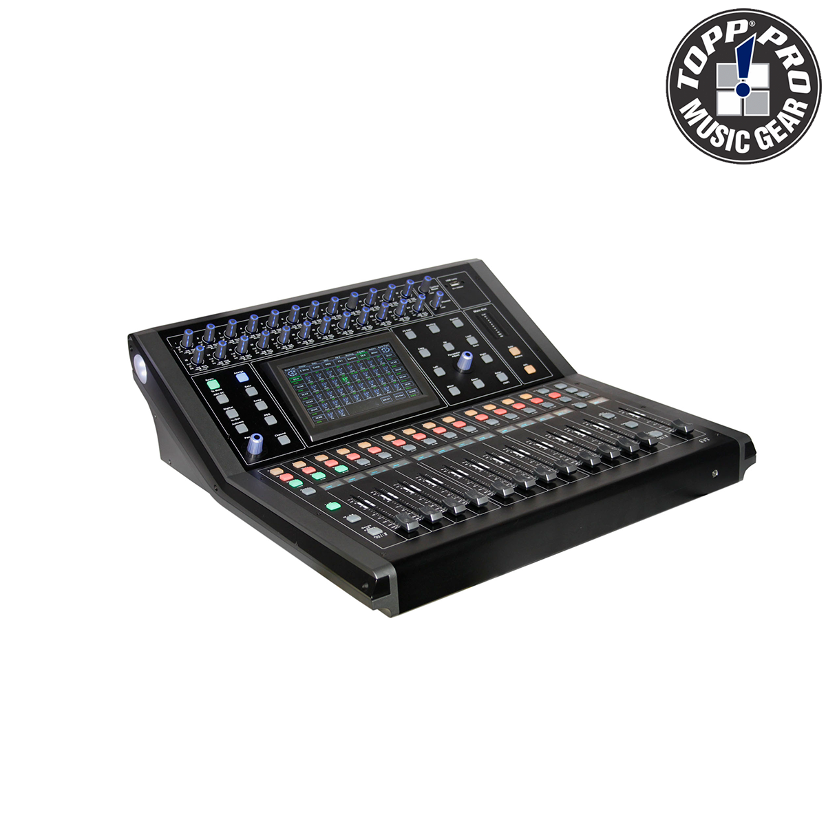 MIXER DIGITAL 24.8, 24CH MIC. 24 LINE INPUTS, 8 AUX, 7 PLG LCD TOUCH SCREEN, ETHERNET+USB MODULE BUIL-IN DM24.8
