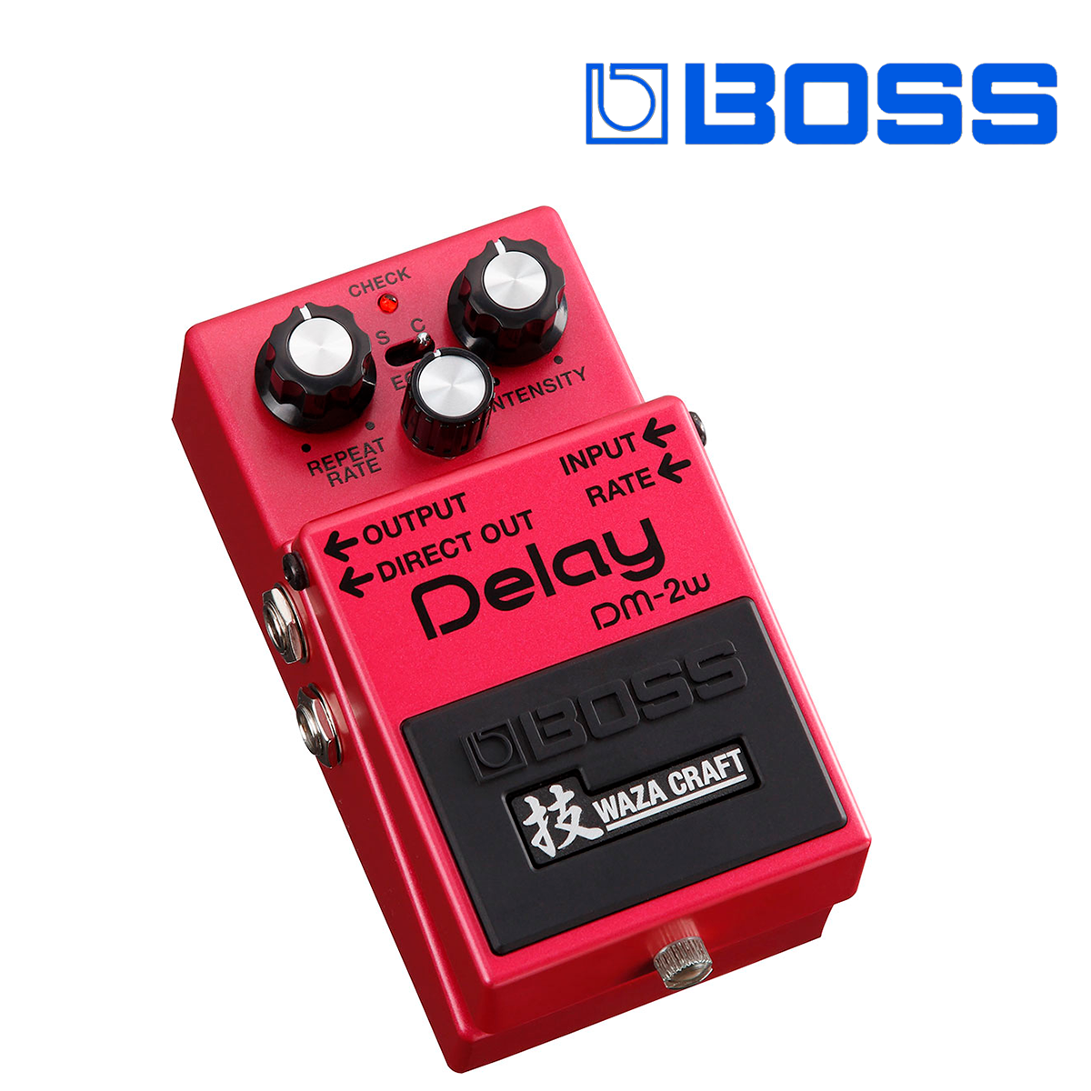 PEDAL COMPACTO DELAY WAZA CRAFT DM-2W