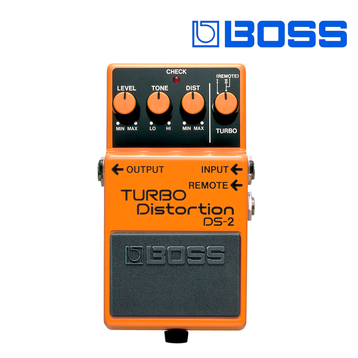 PEDAL TURBO DISTORTION W/REMOT DS-2