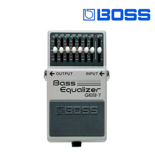 PEDAL COMPACTO P/BAJO BASS EQUALIZER GEB-7