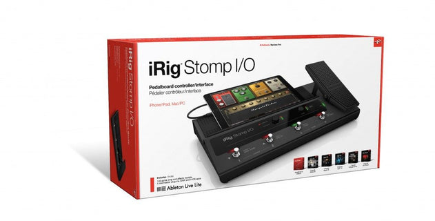 APARATO DE INTERFACE PARA INSTRUMENTO MUSICAL MOD.IRIG STOMP 1/0