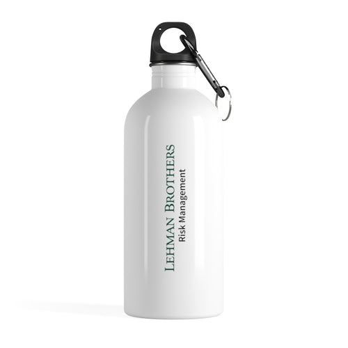 Lehman Bro's Stainless Steel Water Bottle