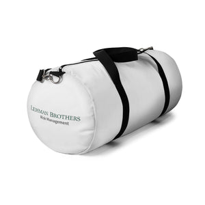 Lehman Bro's Risk Management Duffle Bag
