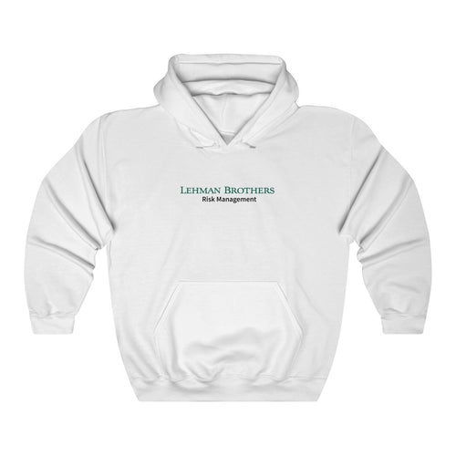 Lehman Brothers Risk Management Hooded Sweatshirt
