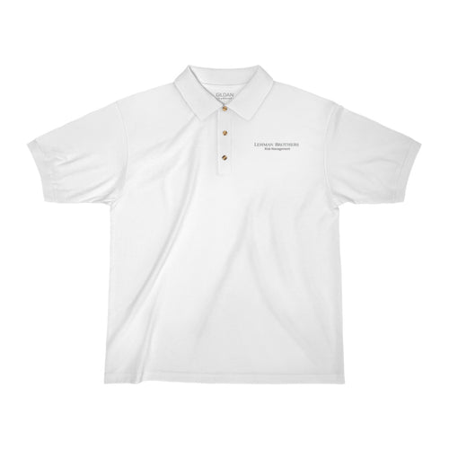 Lehman Brother Risk Management Embroidered Polo Shirt