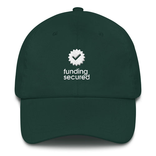 Funding Secured Dad hat