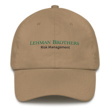 Load image into Gallery viewer, Lehman Bro's Dad Hat