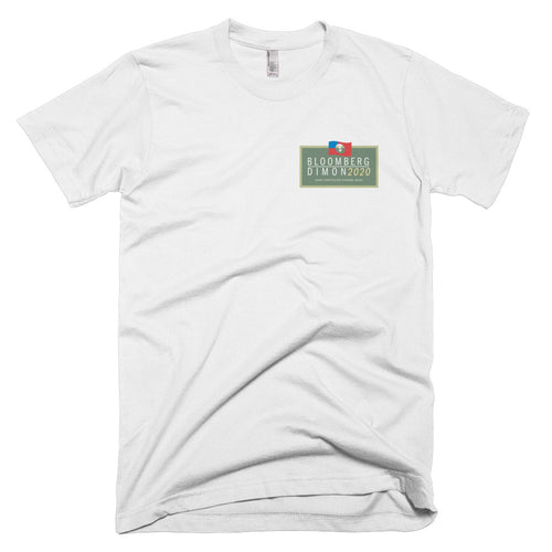 Bloomberg Dimon 2020 Campaign Logo Short-Sleeve T-Shirt