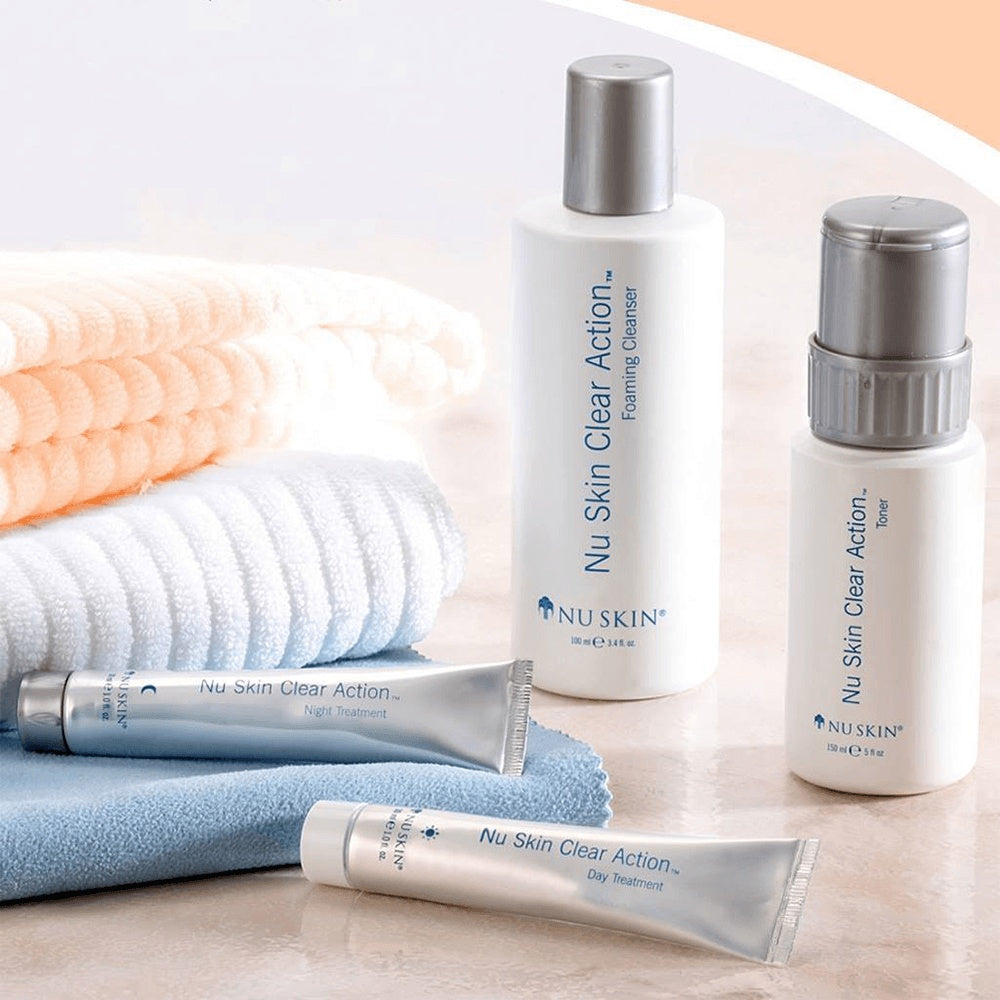 Nu Skin Clear Action System Set Anti-Pickel_SPIRIT - beauty excellence_Anti-Aging Schönheit Vitalität_Nu Skin