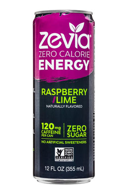 Zevia Zero Calorie Energy Drinks (Case of 12)