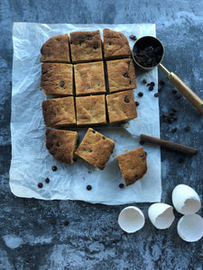 #KETO Chocolate Chip Blondie