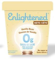 Load image into Gallery viewer, Keto Enlightened Ice Cream (473ml)
