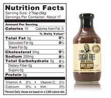 Load image into Gallery viewer, G Hughes No Sugar Added Smokehouse BBQ Sauce 510ml