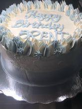 Load image into Gallery viewer, #KETO Swirl Border Celebration Cake
