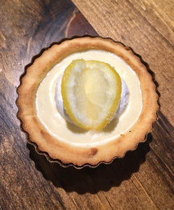 #Keto Mini Pie - Lemon