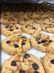 #Keto Walnut Chocolate Chip Cookies (8 Pack)