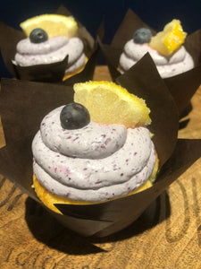 #Keto Gourmet Cupcakes - Lemon Blueberry