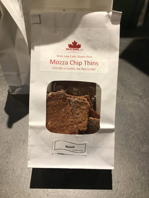 Nutty Bun Bakery Mozza Chip Thins