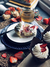 Load image into Gallery viewer, #Keto Gourmet Cupcakes - Strawberry Shortcake