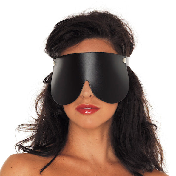 Genuine Leather Blindfold