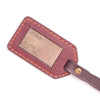 № 307 BULLTAG Leather Tag