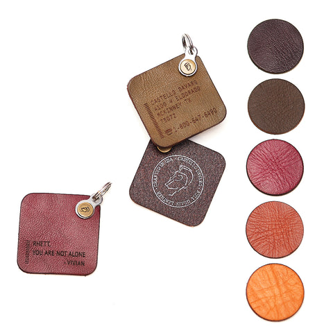 № 1103 KUNJ Leather Tag