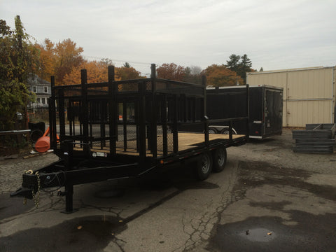 custom fabricated trailer
