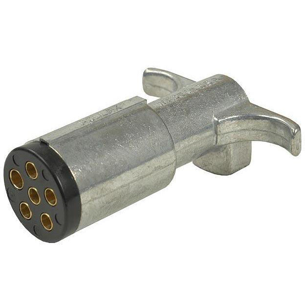 Pollak 11-604 6-Way Trailer Connector - Welch Welding & Truck Equipment