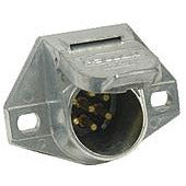 Pollak 11-720 7-Way Vehicle End Connector Plug - Welch Welding & Truck Equipment