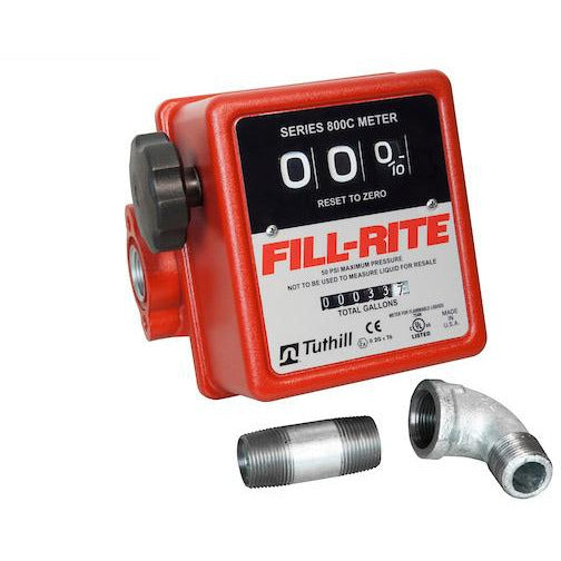 Fill-Rite 3-Wheel Mechanical Meter - Welch Welding & Truck Equipment