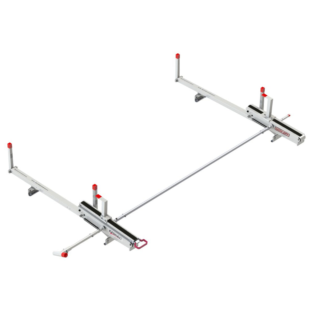 Weather Guard 2291-3-01 EZGLIDE2 Roof Rack - Welch Welding & Truck Equipment