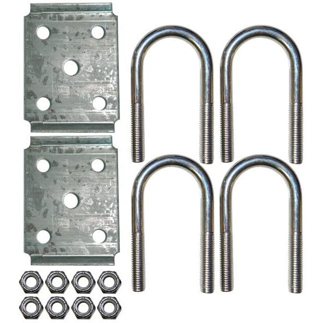 "2-3/8"" Round Trailer U-Bolt Kit - Welch Welding & Truck Equipment"