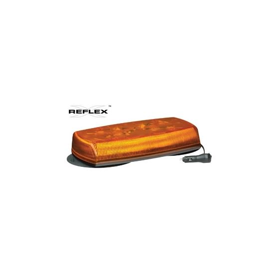 Ecco 5580A-VM Amber Vaccum Mount Lightbar - Welch Welding & Truck Equipment