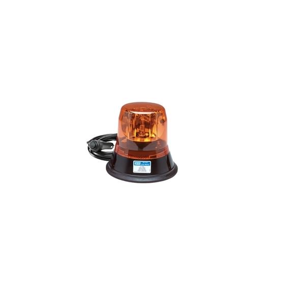 Ecco 5813AMG Amber Magnet Mount Rotating Beacon - Welch Welding & Truck Equipment