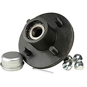 "1"" x 1"" 4 Stud Trailer Hub - Welch Welding & Truck Equipment"