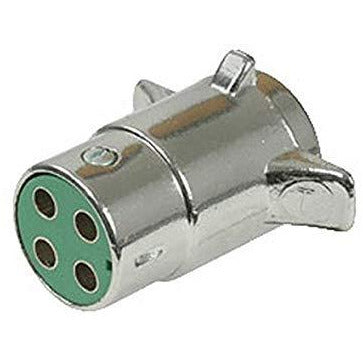 Pollak 11-409 4-Way chrome plated connector plug