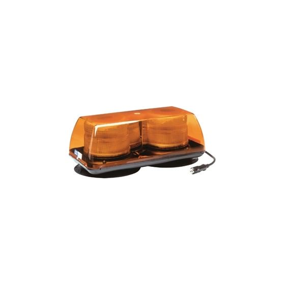 Ecco 5350AAA-VM Amber Vacuum Magnet Mount - Welch Welding & Truck Equipment