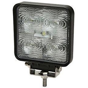 Ecco Square LED Flood Light. 92007 Flood light. Clear ECCO LED light. Back up Truck Light. LED Flood beam