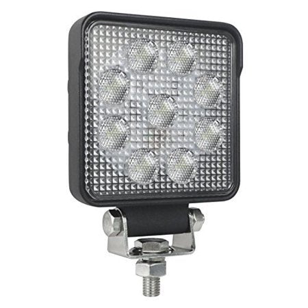 Hella 4 Square 1.0 LED work light. Hella 357102002. Square LED light